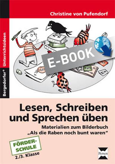 Lesen, Schreiben und Sprechen üben - Blick ins Buch