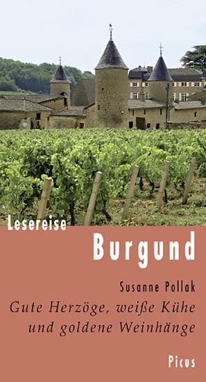 Lesereise Burgund - Blick ins Buch