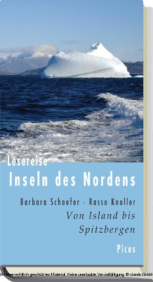 Lesereise Inseln des Nordens - Blick ins Buch