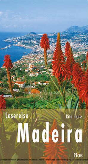 Lesereise Madeira - Blick ins Buch