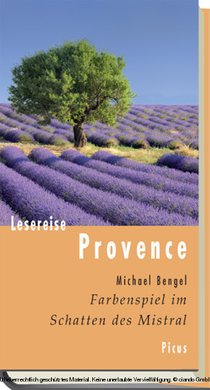 Lesereise Provence - Blick ins Buch