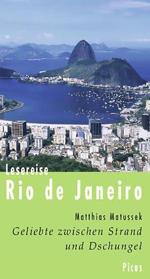 Lesereise Rio de Janeiro - Blick ins Buch