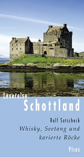 Lesereise Schottland - Blick ins Buch