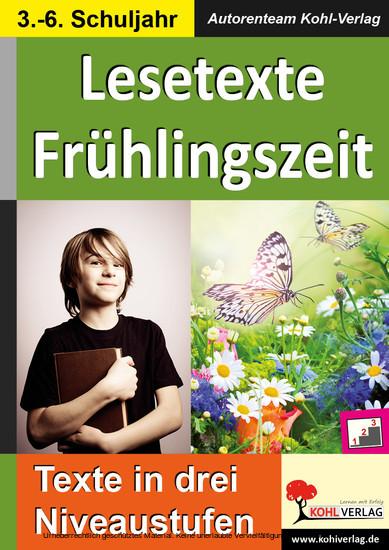Lesetexte FRÜHLINGSZEIT - Blick ins Buch