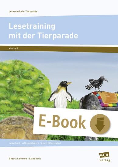 Lesetraining mit der Tierparade - Blick ins Buch