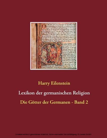 Lexikon der germanischen Religion - Blick ins Buch