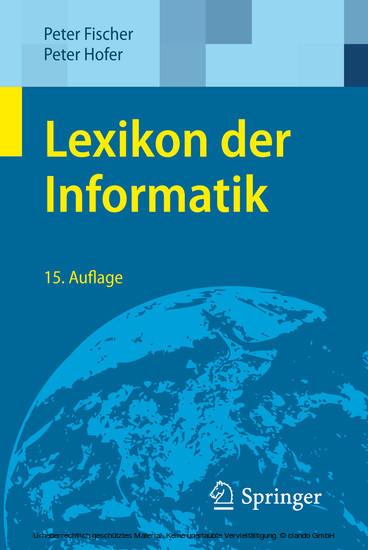 Lexikon der Informatik - Blick ins Buch