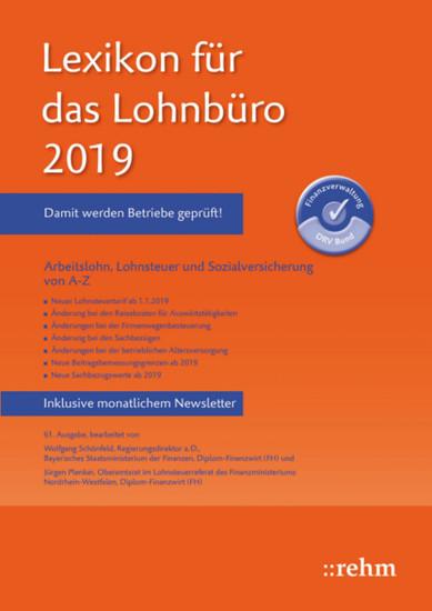 Lexikon für das Lohnbüro 2019 (E-Book PDF) - Blick ins Buch