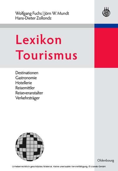 Lexikon Tourismus - Blick ins Buch