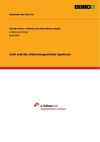 Licht und das elektromagnetische Spektrum - Blick ins Buch