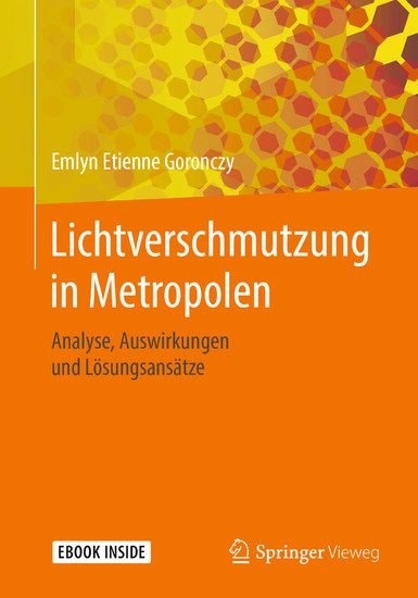 Lichtverschmutzung in Metropolen - Blick ins Buch