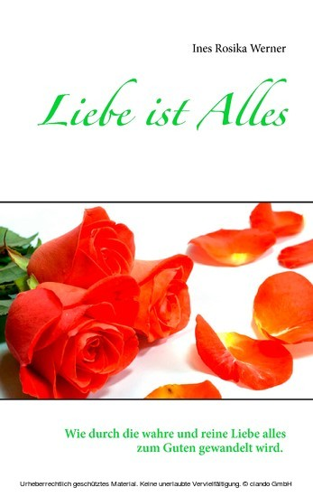 Liebe ist Alles - Blick ins Buch