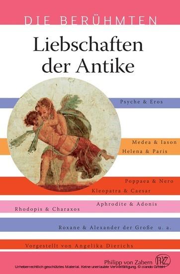 Liebschaften der Antike - Blick ins Buch