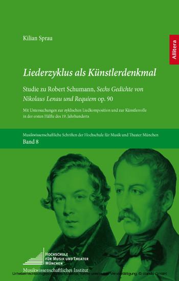 Liederzyklus als Künstlerdenkmal - Blick ins Buch