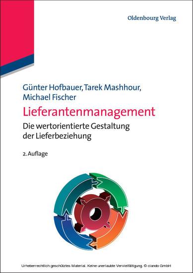 Lieferantenmanagement - Blick ins Buch