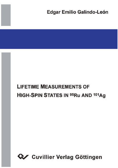 Lifetime Measurements of High-Spin States in Ru and Ag - Blick ins Buch