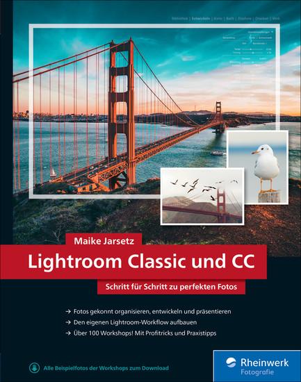 Lightroom Classic und CC - Blick ins Buch