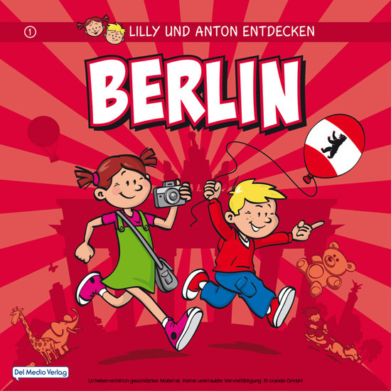 Lilly & Anton entdecken Berlin - Blick ins Buch