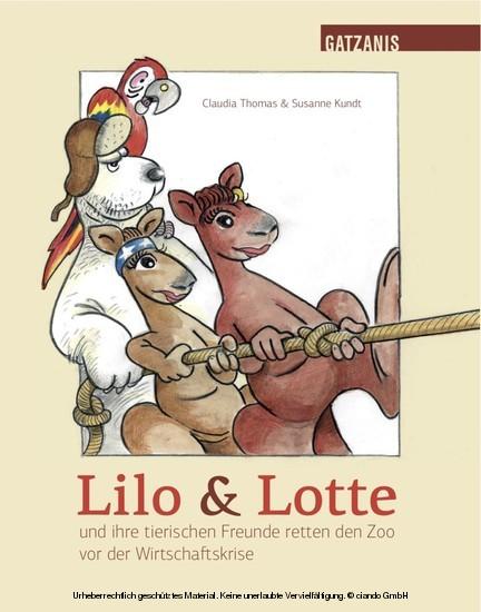 Lilo & Lotte - Blick ins Buch