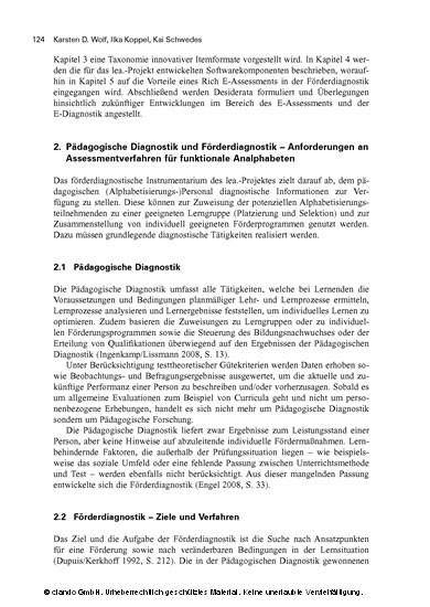Literalitätsentwicklung von Arbeitskräften - Blick ins Buch