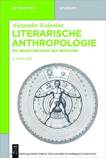 Literarische Anthropologie - Blick ins Buch
