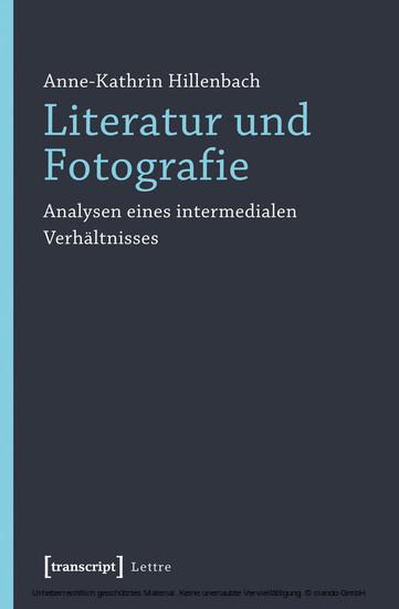 Literatur und Fotografie - Blick ins Buch