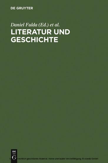 Literatur und Geschichte - Blick ins Buch
