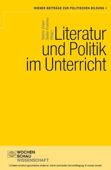 Literatur und Politik im Unterricht - Blick ins Buch