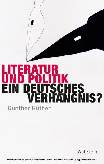 Literatur und Politik - Blick ins Buch