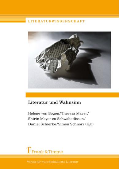 Literatur und Wahnsinn - Blick ins Buch