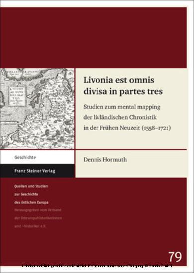 Livonia est omnis divisa in partes tres - Blick ins Buch