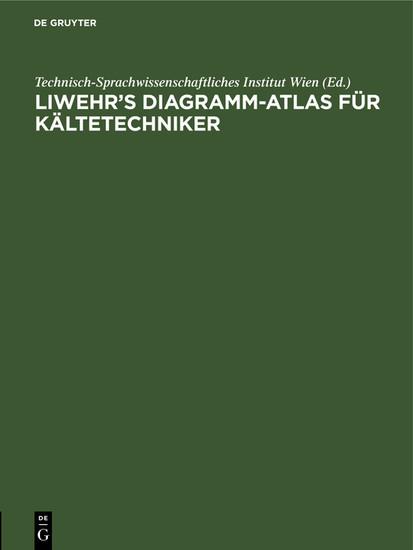 Liwehr's Diagramm-Atlas für Kältetechniker - Blick ins Buch