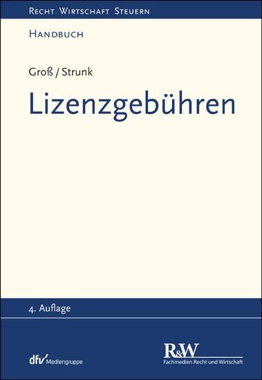 Lizenzgebühren - Blick ins Buch