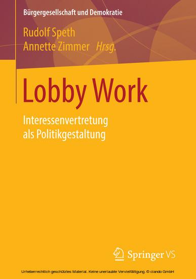 Lobby Work - Blick ins Buch