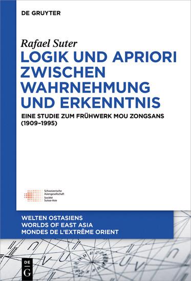 Logik und Apriori zwischen Wahrnehmung und Erkenntnis - Blick ins Buch