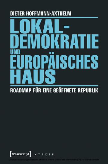 Lokaldemokratie und Europäisches Haus - Blick ins Buch