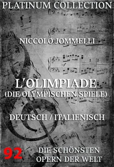 L'Olimpiade (Die olympischen Spiele) - Blick ins Buch