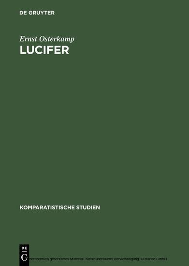 Lucifer - Blick ins Buch