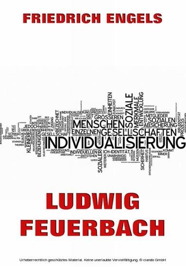 Ludwig Feuerbach - Blick ins Buch