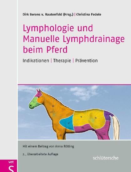 Lymphologie und Manuelle Lymphdrainage beim Pferd - Blick ins Buch