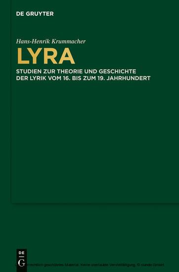Lyra - Blick ins Buch