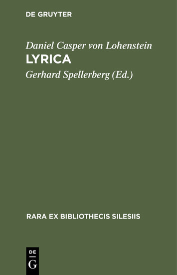 Lyrica - Blick ins Buch