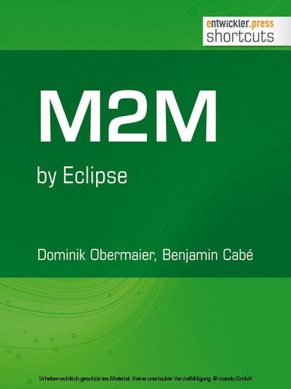 M2M by Eclipse - Blick ins Buch