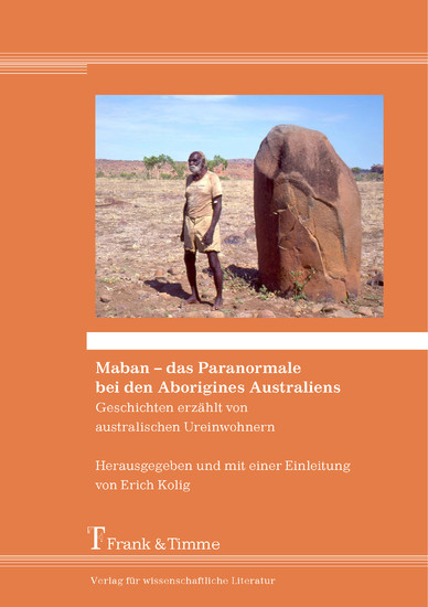 Maban - das Paranormale bei den Aborigines Australiens - Blick ins Buch