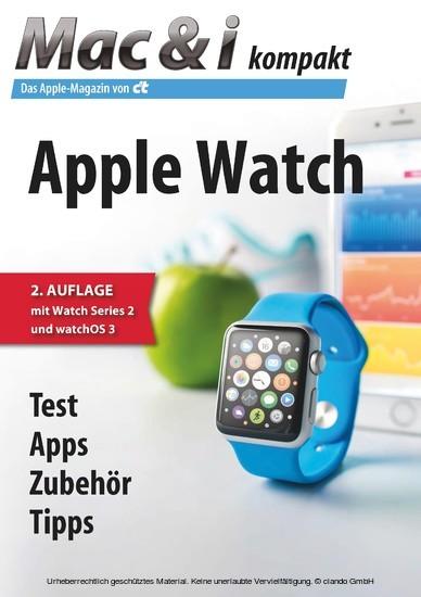 Mac & i kompakt Apple Watch - Blick ins Buch