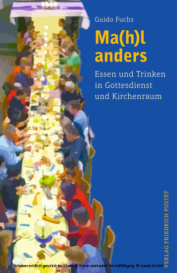 Ma(h)l anders - Blick ins Buch