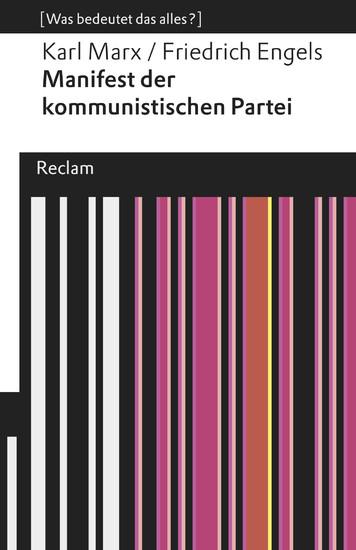 Manifest der kommunistischen Partei - Blick ins Buch