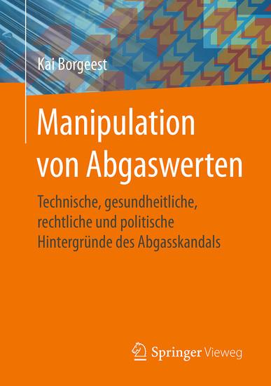 Manipulation von Abgaswerten - Blick ins Buch