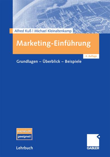 Marketing-Einführung - Blick ins Buch