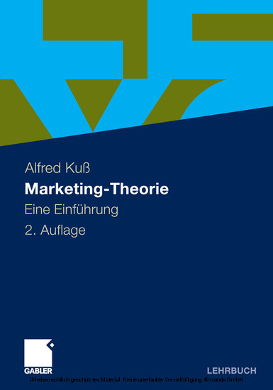 Marketing-Theorie - Blick ins Buch